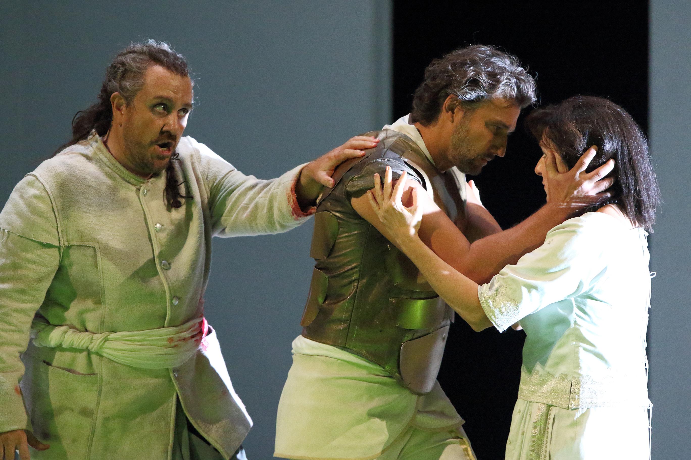 Aida con Jonas Kauffman and Krassimira Stoyanova © Bayerische Staatsoper