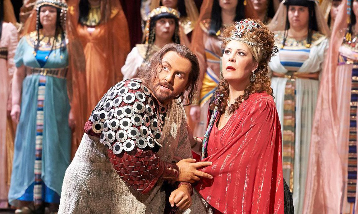 Aida con Sondra Radvanovsky © Wiener Staatsoper