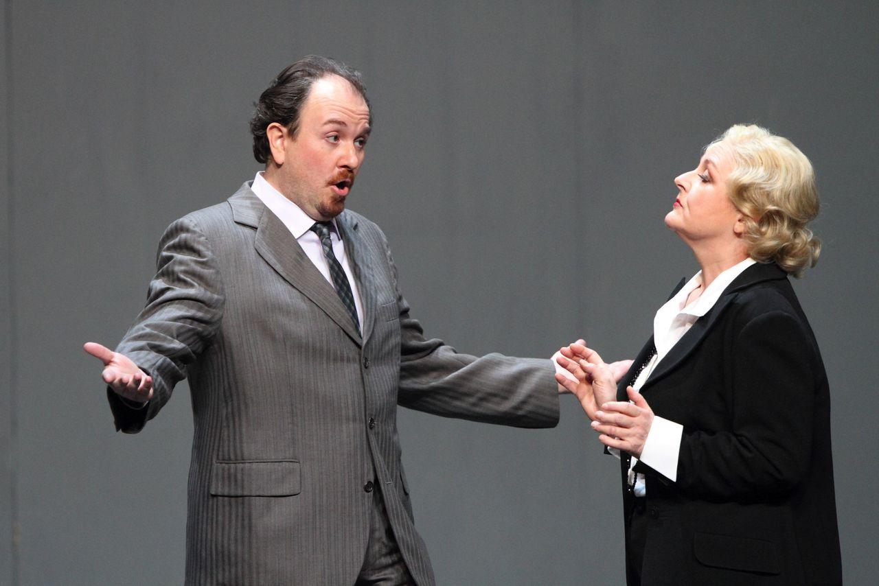 Lucrezia Borgia con Edita Gruberova © Bayerische Staatsoper