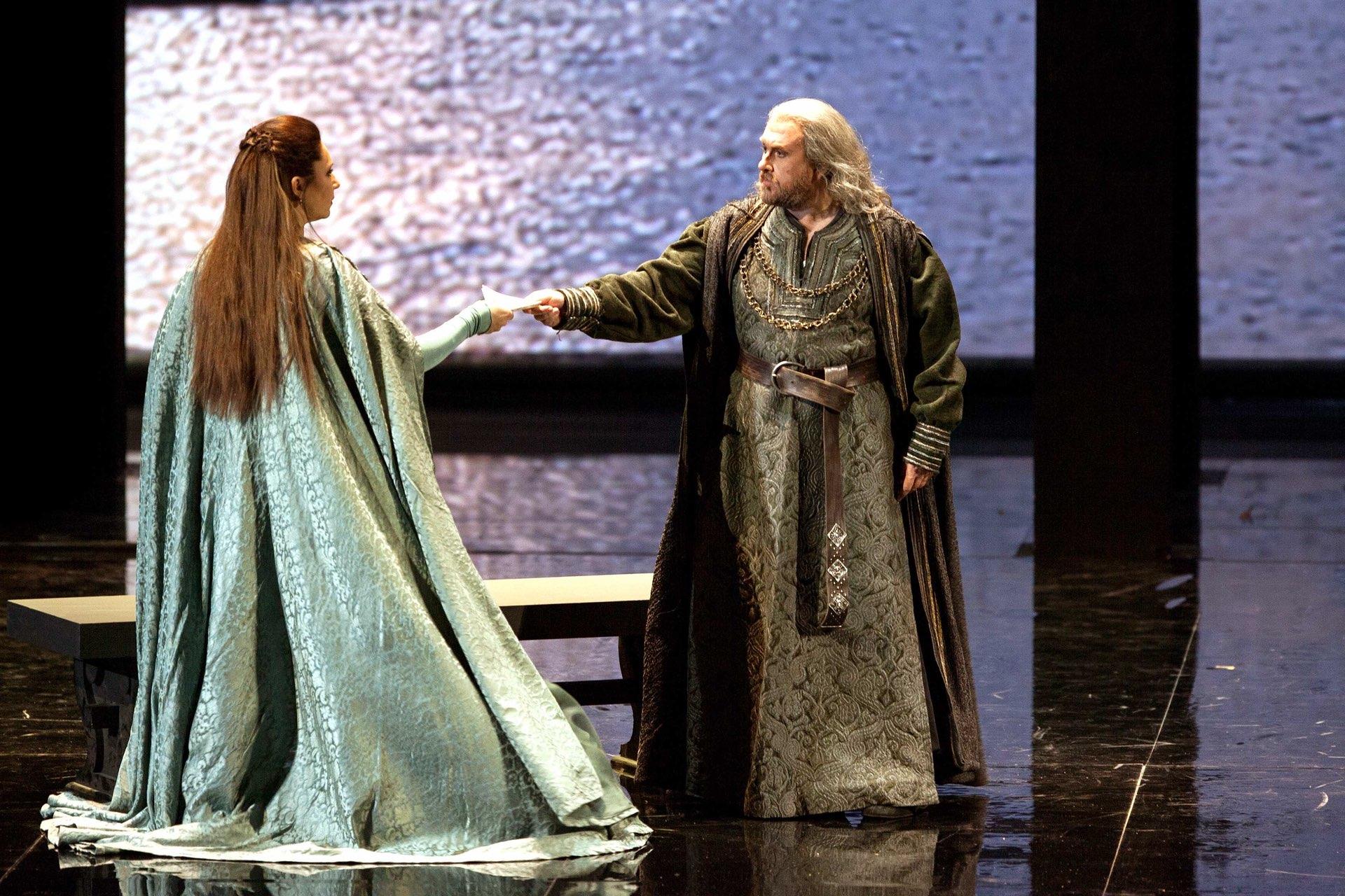 Simon Boccanegra con Barbara Frittoli © Teatro Carlo Felice di Genova